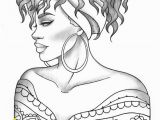 Black Art Black Girl Coloring Pages Adult Coloring Page Black Girl Portrait and Clothes