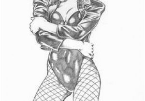 Black Canary Coloring Pages 119 Best Black Canary Images