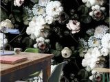 Black Floral Wall Mural 11 Beautiful Wall Murals that Will Make You Want to Break Up