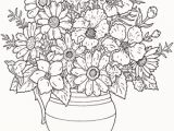 Blank Flower Coloring Pages Coloring Pages for Adults Free Perfect Free Printable Coloring Page