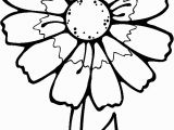Blank Flower Coloring Pages Printable Flowers to Color Flowers Coloring Pages Kids