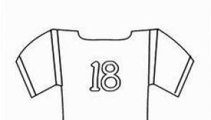 Blank Football Jersey Coloring Page 66 Best Football Coloring Pages Images On Pinterest