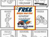 Blaze and the Monster Machines Nick Jr Coloring Pages Blaze Monster Truck Coloring Pages Coloring Chrsistmas