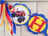 Blaze and the Monster Machines Wall Mural Blaze and the Monster Machines Birthday Banner Blaze