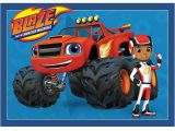 Blaze and the Monster Machines Wall Mural Buy Blaze & the Monster Machines Party Supplies at Build A