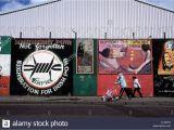 Bloody Bay Wall Mural Republikanische Wandbilder Stockfotos & Republikanische