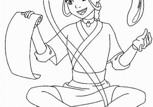Blue Avatar Coloring Pages Avatar the Last Airbender Katara Was Practicing Water Control