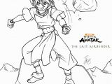 Blue Avatar Coloring Pages the Last Airbender Coloring Pages