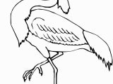Blue Heron Coloring Page Wading Heron Coloring Page