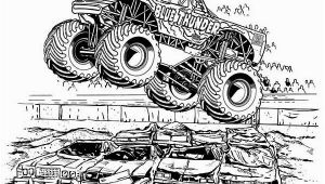 Blue Thunder Monster Truck Coloring Pages Blue Thunder Monster Truck Coloring Page Kids Play Color