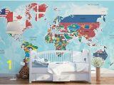 Blue World Map Wall Mural Wall Mural Wallpaper Stones Coast Sepia Photo Photo 90 Cm X