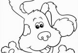 Blues Clues Christmas Coloring Pages Blues Clues 19 Coloring Page Free Printable Coloring Pages