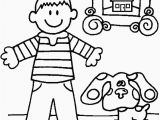 Blues Clues Christmas Coloring Pages Blues Clues Printable Coloring Pages