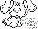 Blues Clues Coloring Pages Birthday Blues Clues Coloring Pages Blues Clues Coloring Book Wealth Blues