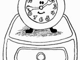 Blues Clues Coloring Pages Birthday Blues Clues Coloring Pages Clock Coloring Pages Coloringpages Ly