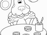 Blues Clues Coloring Pages Birthday Blues Clues Coloring Pages Free Coloring Pages for Children