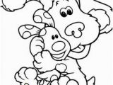 Blues Clues Coloring Pages Birthday Blues Clues Dog Blues Clues Coloring Pages Free Printable Ideas