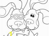 Blues Clues Coloring Pages Free 23 Best Blues Clues Images On Pinterest