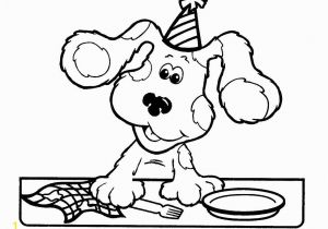 Blues Clues Coloring Pages Free Pin by Anne Anterola On Blue S Clues Party Ideas