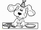 Blues Clues Coloring Pages Pin by Anne Anterola On Blue S Clues Party Ideas