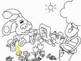 Blues Clues Joe Coloring Pages Blues Clues 19 Coloring Page Free Printable Coloring Pages