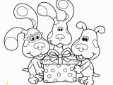 Blues Clues Joe Coloring Pages Free Printable Blues Clues Coloring Pages for Kids