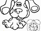 Blues Clues Joe Coloring Pages Tickety Blues Clues Printable Blues Clues and Tickety tock Coloring