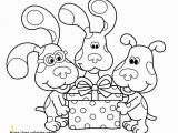 Blues Clues Magenta Coloring Pages 27 Blues Clues Coloring Pages