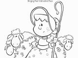 Bo Peep Coloring Page Nursery Rhymes Printables Coloring Pages Nursery Rhyme