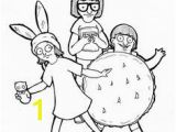 Bob S Burgers Coloring Pages 58 Best Grid Art Images