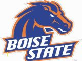 Boise State Broncos Coloring Pages College Football Logos
