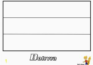 Bolivia Flag Coloring Page Colombian Flag Coloring Page