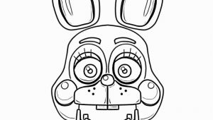 Bonnie Five Nights at Freddy S Coloring Pages Five Nights at Freddys Coloring Pages Awesome Print Bonnie