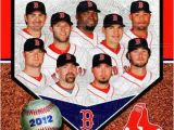 Boston Red sox Wall Murals Boston Red sox 2012 Team Posite