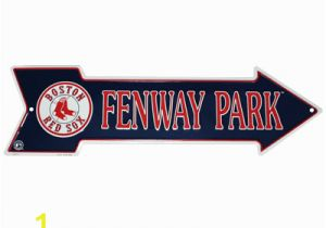 Boston Red sox Wall Murals Boston Red sox Fenway Park Arrow Sign
