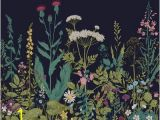 "Botanical Fleur Wall Mural Botanical Fleur 8 X 118"" 6 Piece Wall Mural Set"