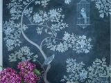Botanical Fleur Wall Mural This Floral Wall Panel Mural Was Hand Painted In Various