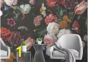 Botanical Tale Floral Wall Mural 30 Best Wall Murals Images
