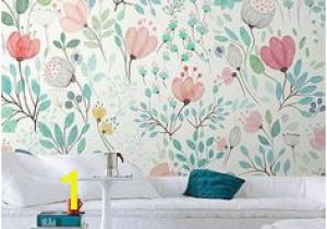 Botanical Tale Floral Wall Mural 36 Best Teal Feature Wall Images