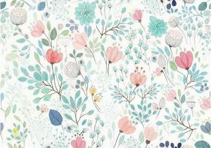Botanical Tale Floral Wall Mural Botanicals Floral Wall Mural