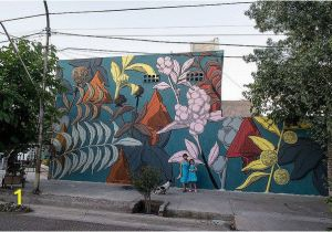 Botanical Tale Floral Wall Mural Pastel S Botanical Murals Beautify Overlooked areas In