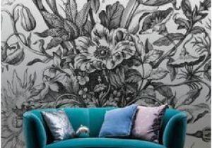 Botanical Wall Murals Uk Bouquet In A Vase Mural by Maria Sybilla Meriaen