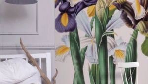 Botanical Wall Murals Uk Iris Xiphium Mural New York Botanical Garden From £60 Per