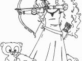 Bow and Arrow Coloring Page 649 Brave Free Clipart 4