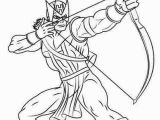 Bow and Arrow Coloring Page Avengers Hawkeye Coloring Pages 9999