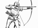 Bow and Arrow Coloring Page Free Me Val Coloring Page the Archer Me Val sol Rs