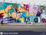 Bowery Mural Wall 2019 Cartoon Graffiti Stockfotos & Cartoon Graffiti Bilder Alamy
