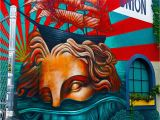 Bowery Mural Wall 2019 Street Art Dans Le Quartier De Bushwick  Brooklyn New York