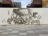 Bowery Mural Wall 2019 Vhils Work In 2019