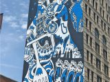 Bowery Mural Wall New York Gigantic Mural In Manhattan New York City